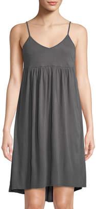 Three Dots High-Low Sleeveless Jersey Dress