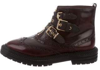 Burberry Brogue Ankle Boots
