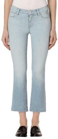 J BrandWomen's J Brand Selena Crop Bootcut Jeans