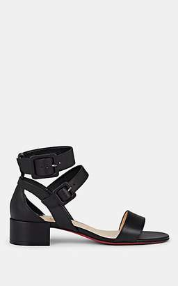 a5491096477 Christian Louboutin Women s Multipot Leather Sandals - Black