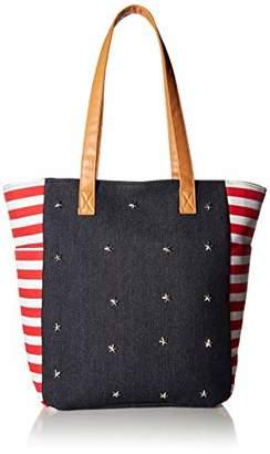 Twig & Arrow Stripes & Stars Shoulder Bag