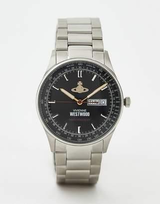 Vivienne Westwood Cranbourne bracelet watch in silver