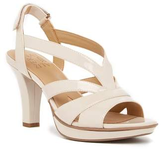 Naturalizer Delfinia Leather Heel Sandal - Wide Width Available