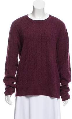 Magaschoni Cable Knit Cashmere Sweater