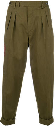 Pt01 casual cropped trousers