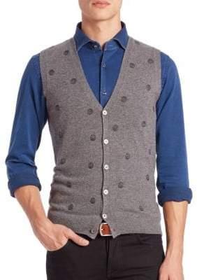 Incotex Dot Cashmere Vest