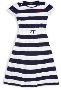 Ralph Lauren Girl's Stripe Maxi Dress