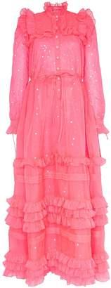 Ashish sequin embellished ruffle dress