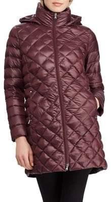 Lauren Ralph Lauren Packable Hooded Down Jacket