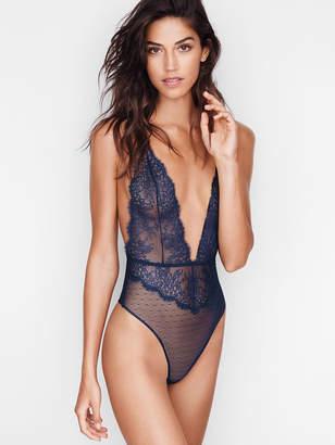 Very Sexy Chantilly Lace Plunge Teddy