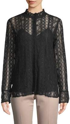 Gold Hawk Women's Catherine Lace Top
