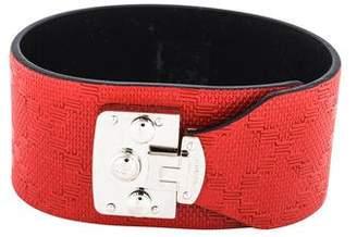 Gucci Leather Wrap Bracelet