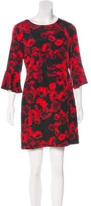 Cynthia Steffe Floral Print Dress