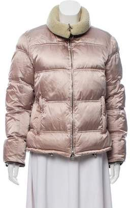 Prada Sport Zip-Up Down Jacket