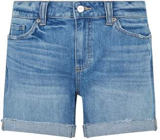 Paige Distressed and Cuffed Parker Denim Shorts