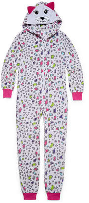 JELLIFISH KIDS Jelli Fish Kids Long Sleeve One Piece Pajama-Big Kid Girls