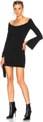Alexander Wang Illusion Mini Dress