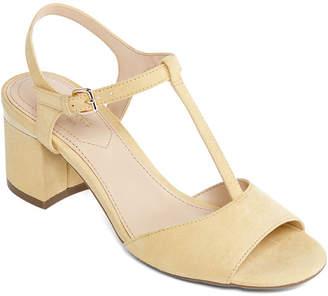 a1dcc85a1535 Liz Claiborne Womens Lambert Heeled Sandals