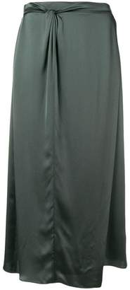 Vince straight midi skirt
