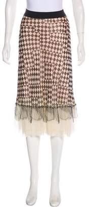 Rozae Nichols Casual Midi Skirt