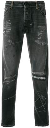 Marcelo Burlon County of Milan gothic surfer jeans