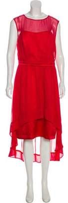 Lela Rose Bridesmaid Plissé Dress w/ Tags red Bridesmaid Plissé Dress w/ Tags