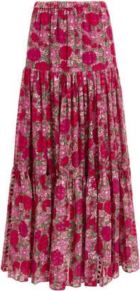 Alexis Grizelda Ruffle Maxi Skirt