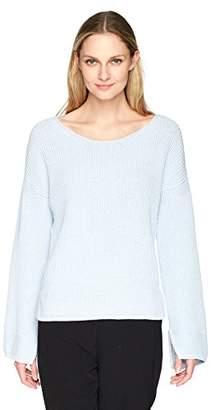 Ellen Tracy Women's Bell Sleeve Sweater