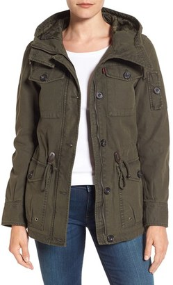 Women's Levi'S Cotton Twill Utility Jacket $88 thestylecure.com