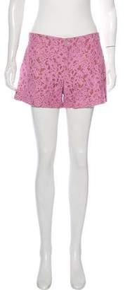 Gucci Lace Mini Shorts