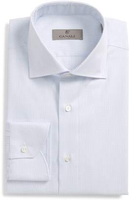 Canali Regular Fit Stripe Dress Shirt