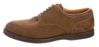 Church's Suede Round-Toe Derby Shoes