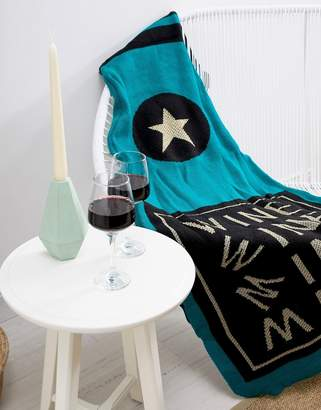 Cotton On Wine Shaped Throw