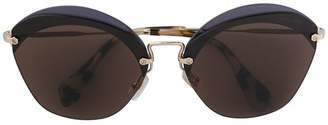 Miu Miu cat eye tinted sunglasses