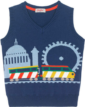 Cath Kidston Kids Knitted Train Tank