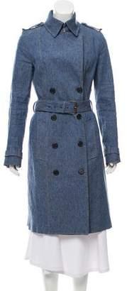 Derek Lam Denim Trench Coat