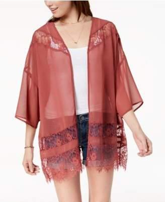 Polly & Esther Juniors' Lace Kimono