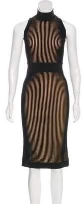 Balmain Sleeveless Midi Dress w/ Tags