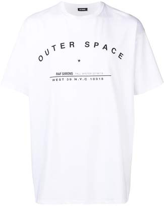 Raf Simons outer space-print T-shirt
