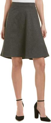 Three Dots Trumpet A-Line Skirt