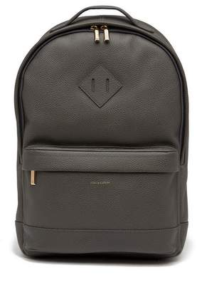 hook + ALBERT CP3 Pebbled Leather Commuter Backpack
