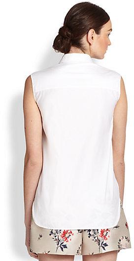 Stella McCartney Sleeveless Cotton Blouse