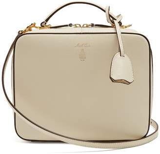 Mark Cross Laura saffiano-leather shoulder bag