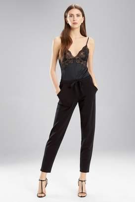 Natori Brushed Slim Pants