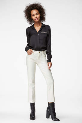 Selena Mid-Rise Cropped Boot Cut In Glimmer