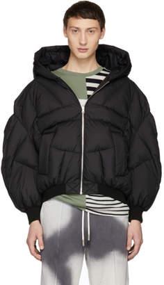 Chen Peng Black Double Layer Jacket