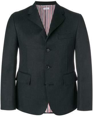 Thom Browne Cavalry Twill Pintuck Sport Coat