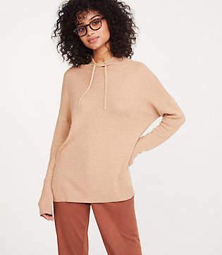 Lou & Grey Drawstring Neck Sweater