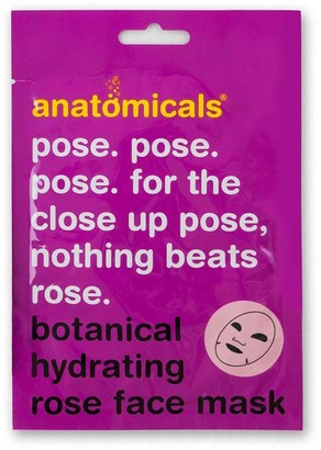 Anatomicals Pose. Pose. Pose. For The Close Up Pose, Hydrating Face Mask