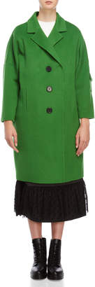 Romanchic Longline Wool Coat
